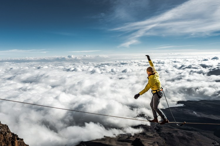 Photo: Stephan Siegrist - Kilimanjaro Highline