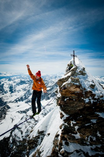 Photo: Stephan Siegrist - Matterhorn Highline