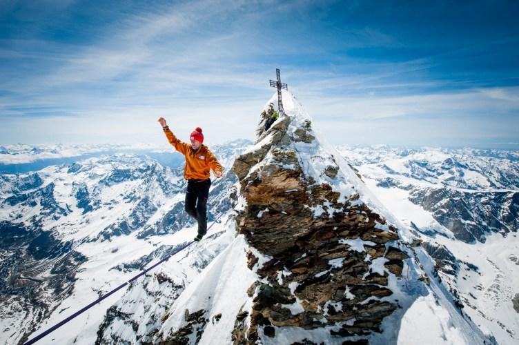 Photo: Stephan Siegrist - Matterhorn Highline
